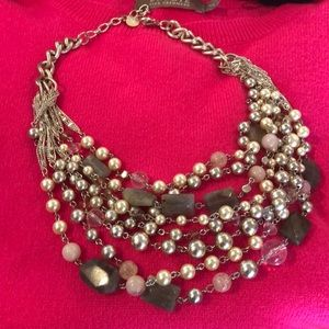 Stella and Dot Multi Pearls and Stones